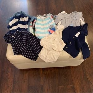 Bundle of 36 tops for baby boy
